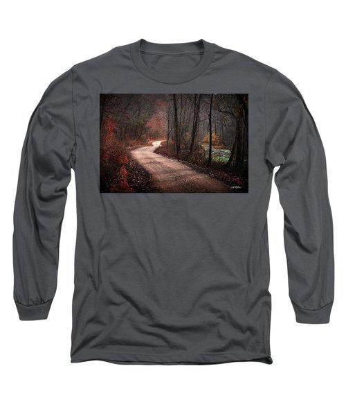 Boz Mill Road Long Sleeve T-Shirt by Bill Stephens