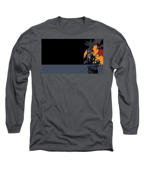 B.p.r.d. The Universal Machine Long Sleeve T-Shirt
