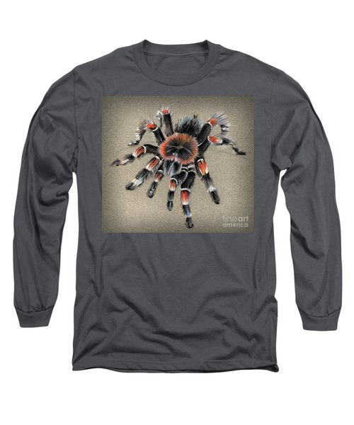 Brachypelma Smithi  Mexican Red Knee Tarantula Long Sleeve T-Shirt