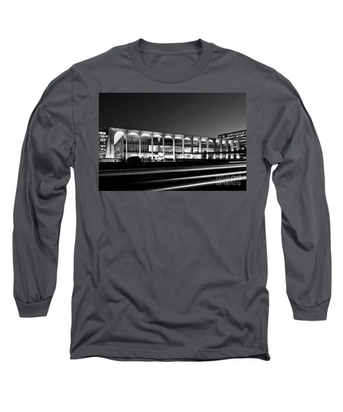 Brasilia - Itamaraty Palace - Black And White Long Sleeve T-Shirt