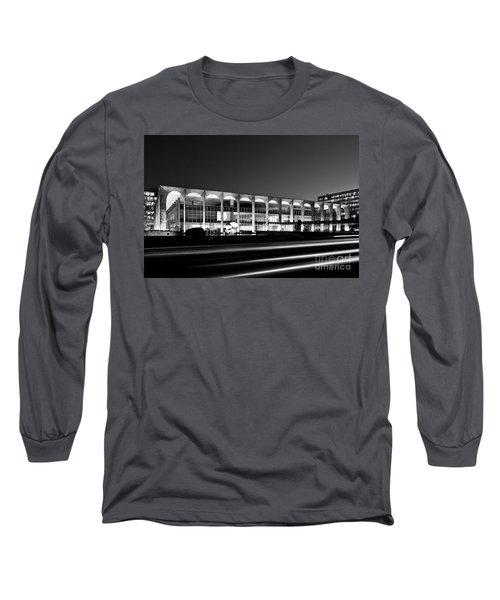 Brasilia - Itamaraty Palace - Black And White Long Sleeve T-Shirt