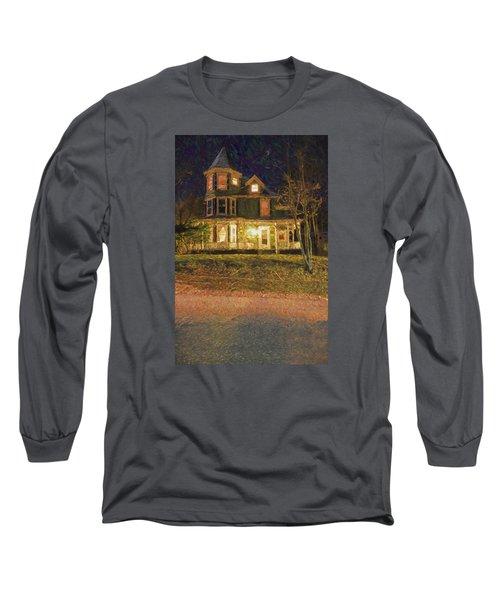 Brattleboro Victorian Long Sleeve T-Shirt by Tom Singleton