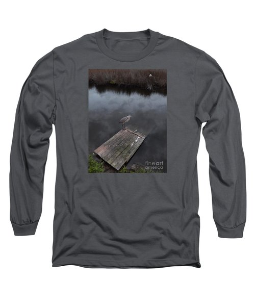 Brave Heron Long Sleeve T-Shirt