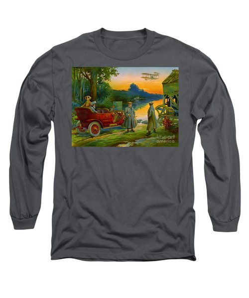 Brave New World 1910 Long Sleeve T-Shirt by Padre Art