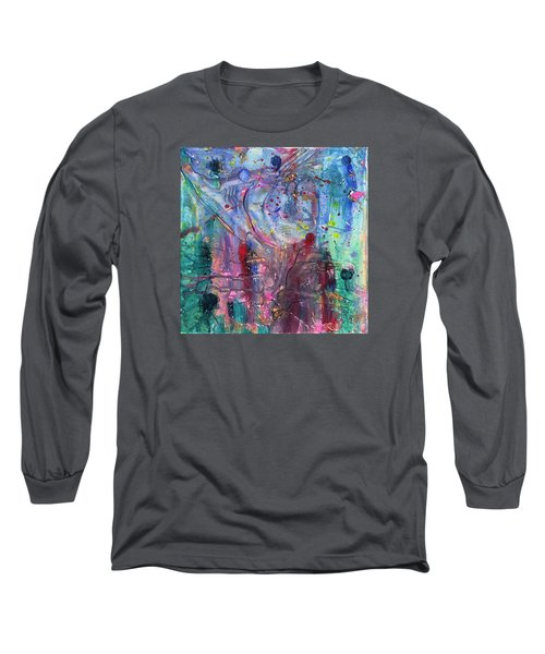 Brave New World Long Sleeve T-Shirt by Phil Strang