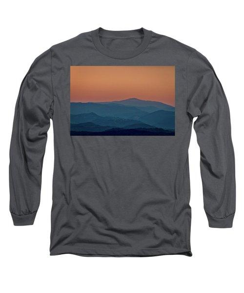 Long Sleeve T-Shirt featuring the photograph Brda Dusk - Slovenia by Stuart Litoff