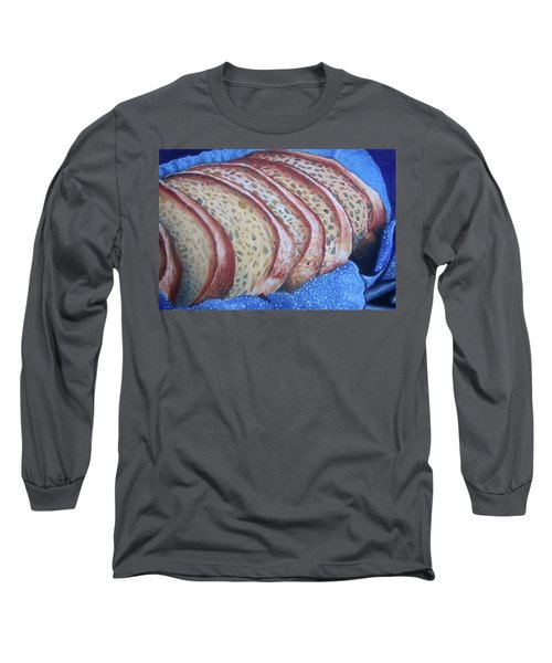 Long Sleeve T-Shirt featuring the painting Bread Basket by Mary Ellen Frazee