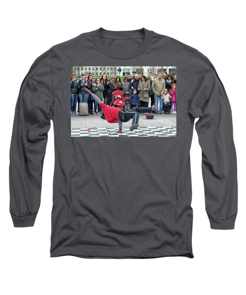 Breakdancer Long Sleeve T-Shirt