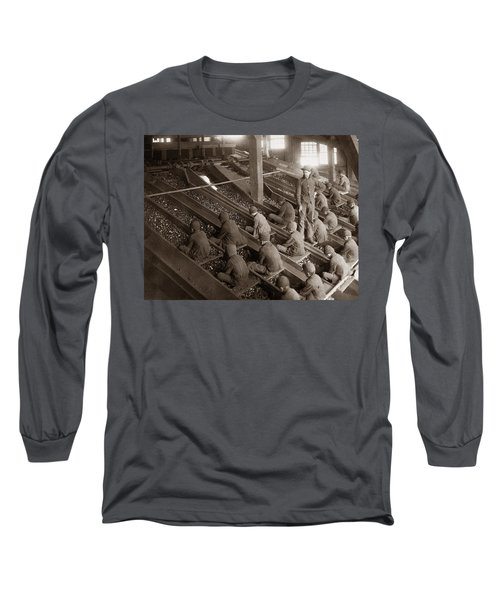Breaker Boys Lehigh Valley Coal Co Maltby Pa Near Swoyersville Pa Early 1900s Long Sleeve T-Shirt