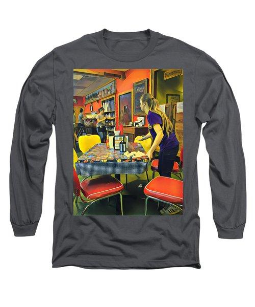 Breakfast In Wimberley Long Sleeve T-Shirt