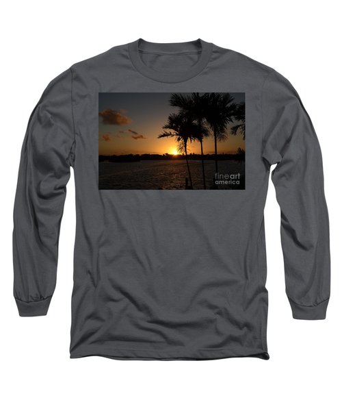 Long Sleeve T-Shirt featuring the photograph Breaking Dawn by Pamela Blizzard