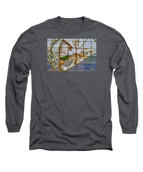 Breakthrough Long Sleeve T-Shirt by Tgchan