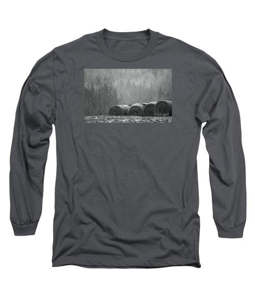 Breathing Spell.. Long Sleeve T-Shirt by Nina Stavlund