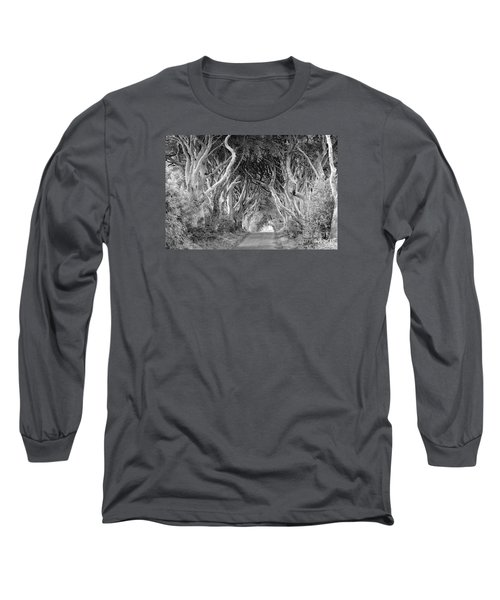 Long Sleeve T-Shirt featuring the photograph Bregagh Road by Juergen Klust