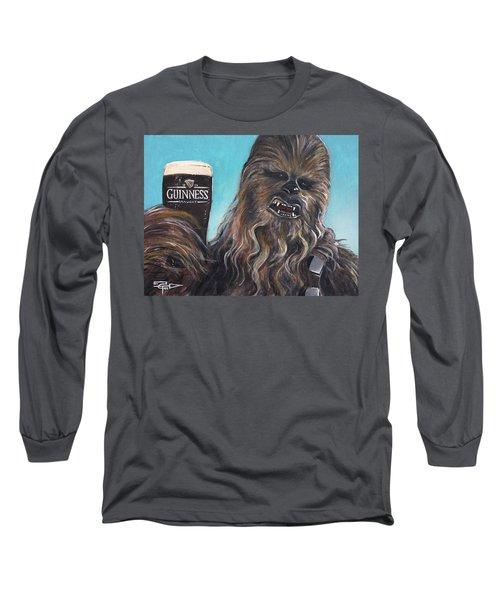 Brewbacca Long Sleeve T-Shirt by Tom Carlton