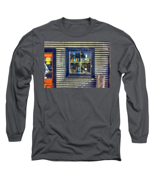 Long Sleeve T-Shirt featuring the photograph Bric-a-brac by Wayne Sherriff