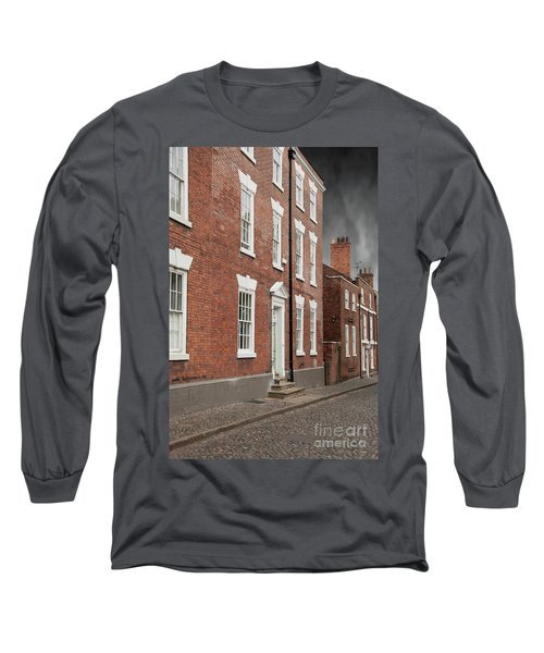 Long Sleeve T-Shirt featuring the photograph Brick Buildings by Juli Scalzi