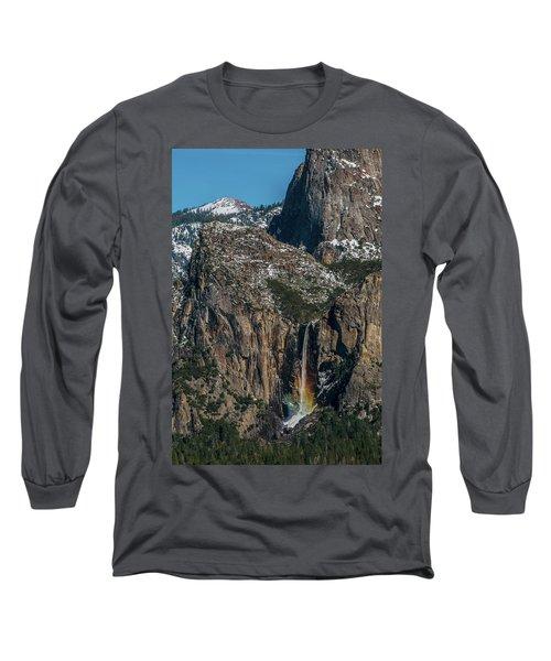 Bridal Veil Rainbow Long Sleeve T-Shirt