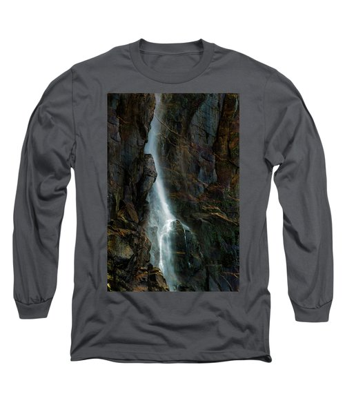 Long Sleeve T-Shirt featuring the photograph Bridalveil Falls In Autumn by Bill Gallagher