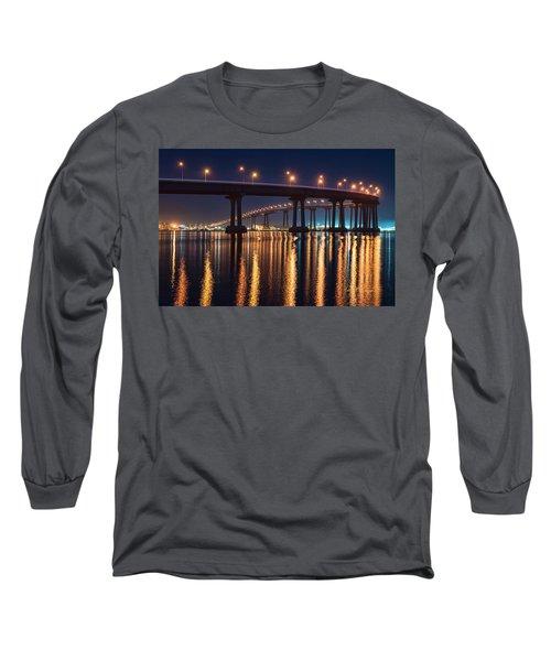 Bridge Bedazzled Long Sleeve T-Shirt