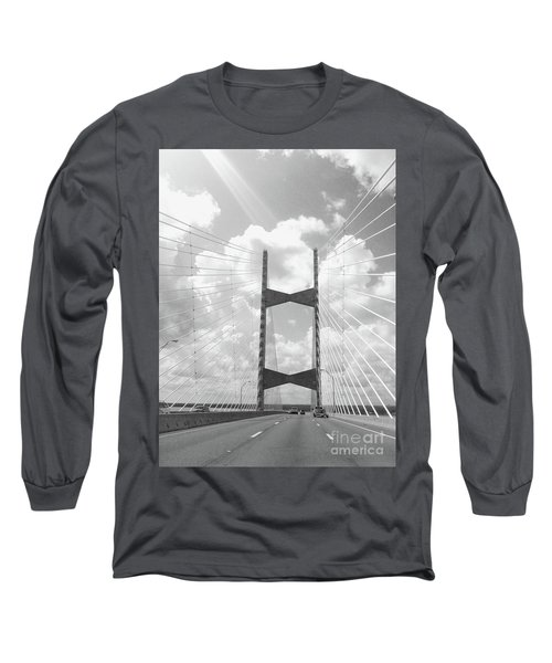 Bridge Clouds Long Sleeve T-Shirt