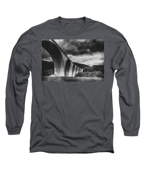 Long Sleeve T-Shirt featuring the photograph Bridge by Hayato Matsumoto