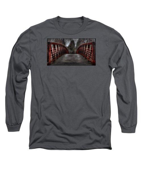 Bridge Long Sleeve T-Shirt by Michaela Preston
