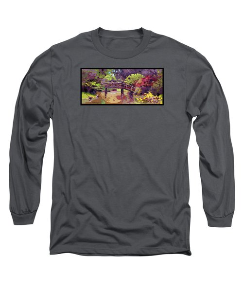 Bridge To Nowhere Long Sleeve T-Shirt by John Lautermilch