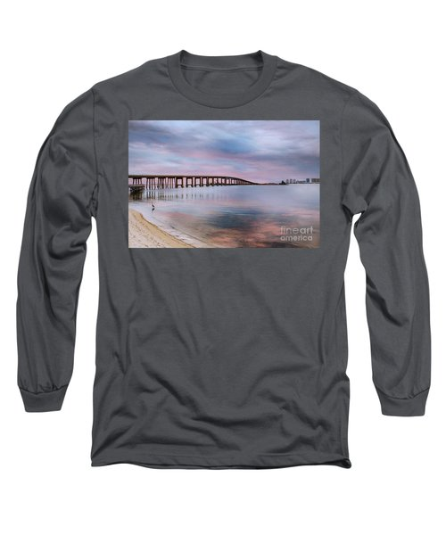 Bridge Under The Sunset Long Sleeve T-Shirt