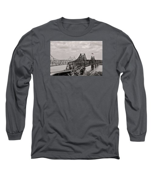 Bridges At Vicksburg Mississippi Long Sleeve T-Shirt