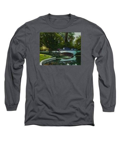 Bridges Of Forest Park V Long Sleeve T-Shirt by Michael Frank