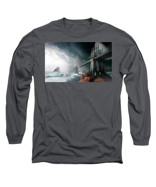 Bridges To The Neverland Long Sleeve T-Shirt