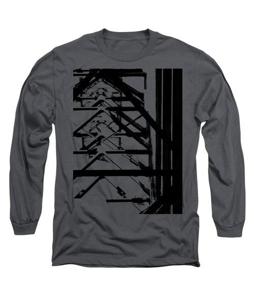 Bridgework Girding Long Sleeve T-Shirt by David Andersen
