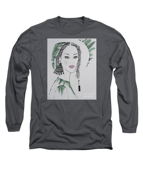 Bright Lady Long Sleeve T-Shirt