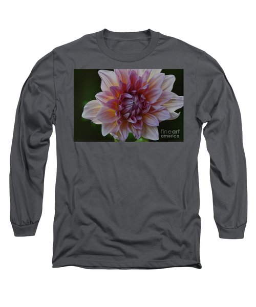 Brilliance Of A Dahlia Long Sleeve T-Shirt