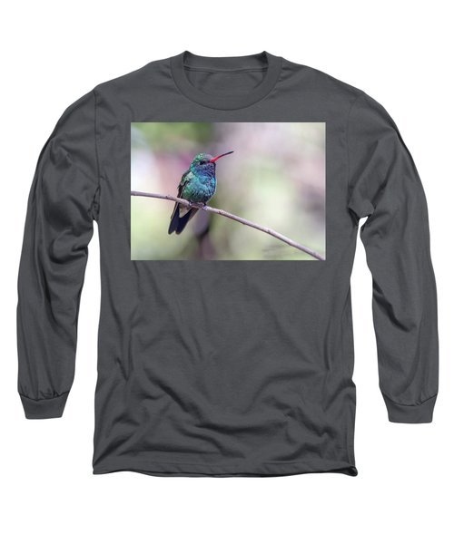 Broad-billed Hummingbird 2008-031718-1cr Long Sleeve T-Shirt