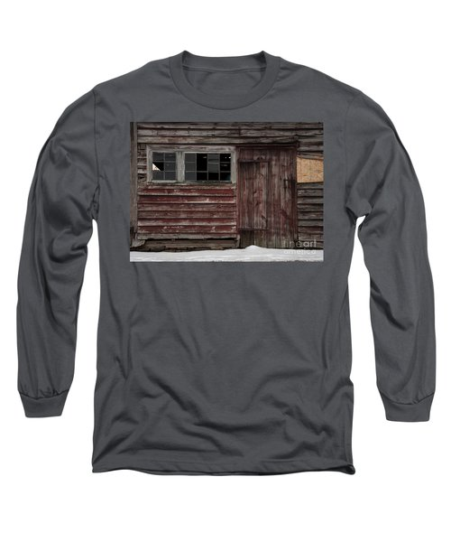 Broad Side Of A Barn Long Sleeve T-Shirt