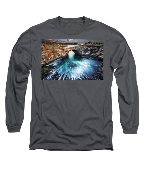 Broken Beach, Bali Long Sleeve T-Shirt