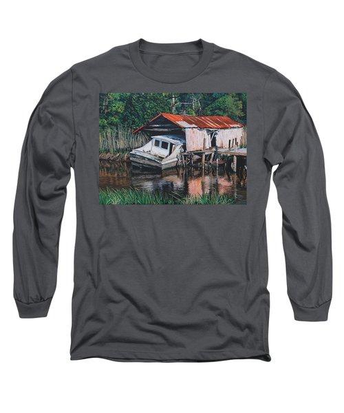 Broken Boat Long Sleeve T-Shirt