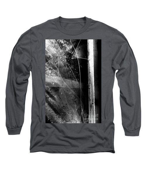 Broken Glass Window Long Sleeve T-Shirt