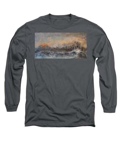 Broken Long Sleeve T-Shirt by Theresa Marie Johnson