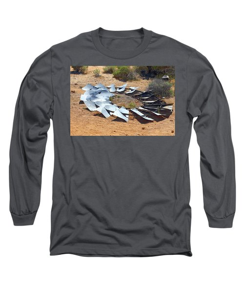 Long Sleeve T-Shirt featuring the photograph Broken Wheel Of Fortune by Viktor Savchenko