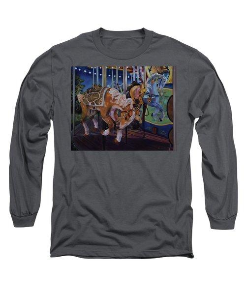 Bronc Busting 101 Long Sleeve T-Shirt