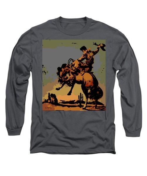 Bronc Rider Long Sleeve T-Shirt