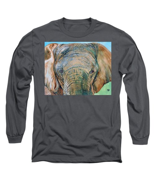 Bronze Elephant Long Sleeve T-Shirt