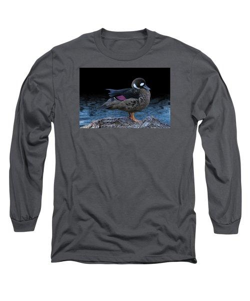 Bronze-winged Duck Long Sleeve T-Shirt