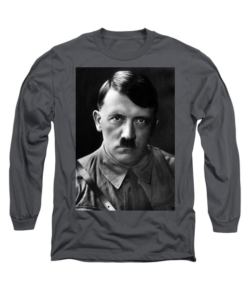 Brooding Portrait Of Adolf Hitler Heinrich Hoffman Photo Circa 1935 Long Sleeve T-Shirt