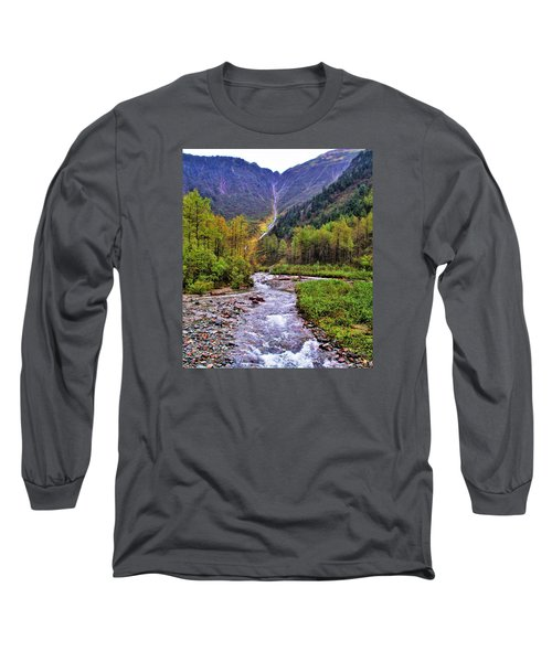 Brook Long Sleeve T-Shirt by Martin Cline
