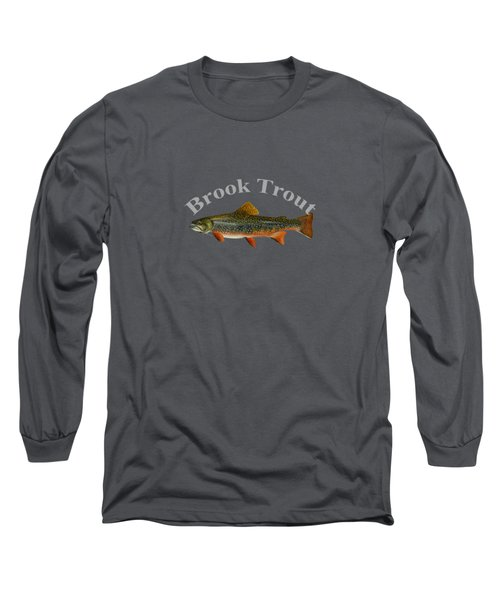 Brook Trout Long Sleeve T-Shirt by T Shirts R Us -
