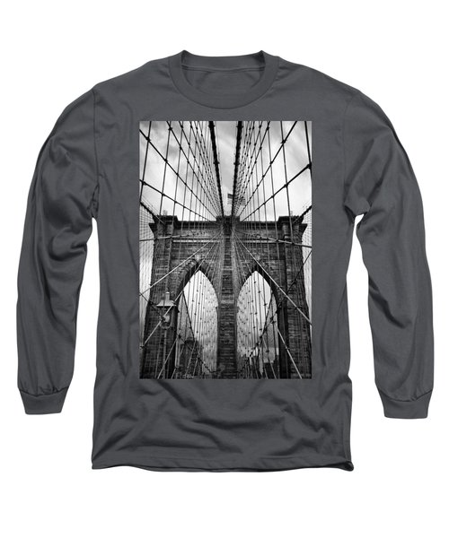 Brooklyn Bridge Mood Long Sleeve T-Shirt